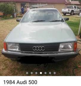 Audi 500. 1984 manuel. Or to swap why