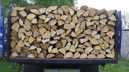 Drewno kominkowe, opałowe od 120 zł. Układane 100 % pewności