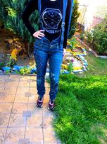 Продам модные джинсы с подтяжками Lee Cooper