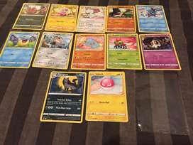 Pokemon cards set of 12 for sale.