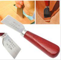 Профессиональный нож (шорный) для работы с кожей, инструмент для кожи