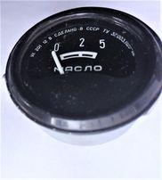 указатель давления масла показчик тиску УК 201 на 5 . СРСР СССР. 12 В