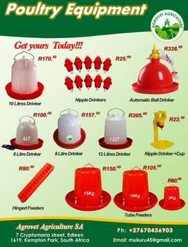 Poultry Equipment for sale.