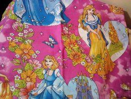 Постельное детское в кроватку колыску принцессы