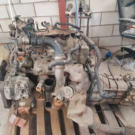 Navara engine with gearbox complete running condition