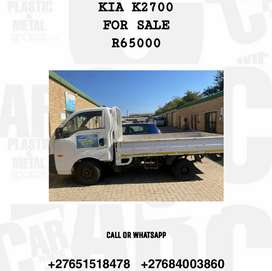 ONE KICK ONE START KIA K2700 TRUCK FOR SALE R65000 ONLY SERIOUS BUYERS