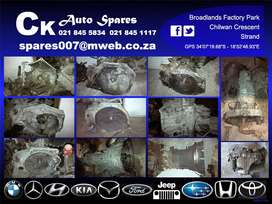Gearboxes  for sale for most vehicles make and models.