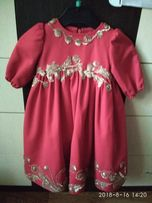 Продам платье на 1 годик