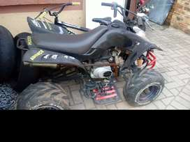 Small 110cc quad bike