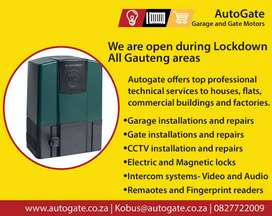 Install and Repair of Gate Motors and Garage Doors