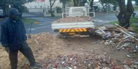 rubble, sand, stone, furniture and garden refuse removals