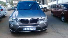 2016 BMW X3 with Automatic Transmission