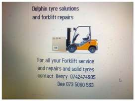 Forklift sales and repairs (gauteng only)