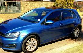 2015 Vw Golf VII 1.4 tsi Comfortline with PANORAMIC sunroof R168000