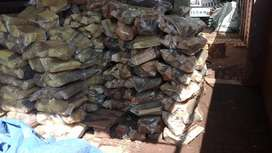 Dry firewood for fireplaces on sale.
