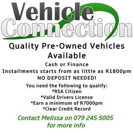 Quality Pre-Owned Vehicles Available