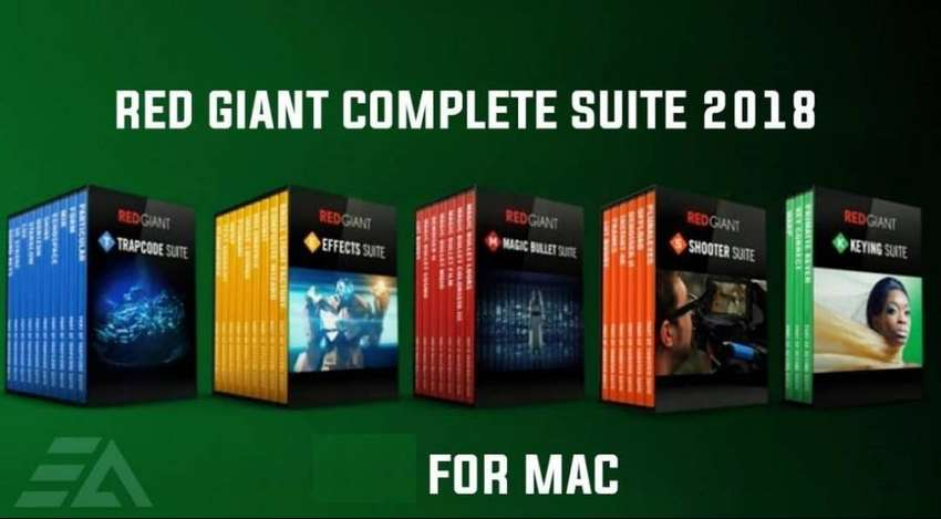 Red Giant Complete Suite 2018 mac 0