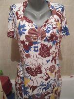 платье вискоза xl 54 18-20 трикотажное летнее как новое куплено в сток