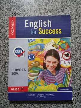 English for success Gr.10