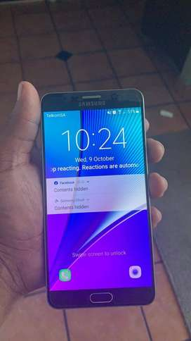 Galaxy note 5( 6 months old). With headsets and charger.