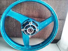 3 x Motorcycle Alloy rims for sale