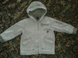 Демисезонная куртка Next ветровка для мальчика на молнии (рост 92)