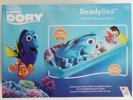 Łóżko Dmuchane dla dzieci DORY Disney 150x62x20cm Pompka Pokrowiec
