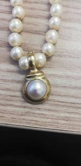 DEEP SEE PEARL NECKLACE