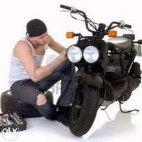 Ремонт скутеров,макси-скутеров,квадроциклов (Недорого,быстро)