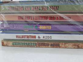 Educational Set of Disease books for kids (Unopened)