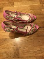 Sandale buty buciki barbie rozowe sliczne nowe 36