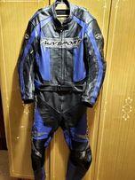 Мотокостюм мотокомбинезон AGV кожа раздельный куртка штаны
