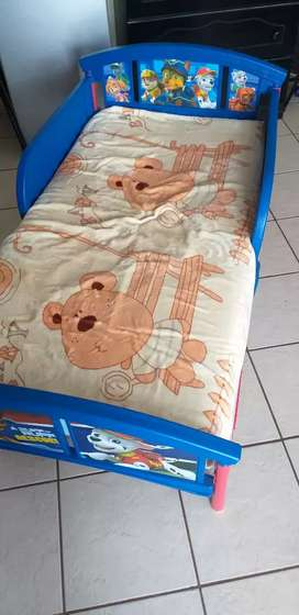 Paw Patrol Character Toddler bed