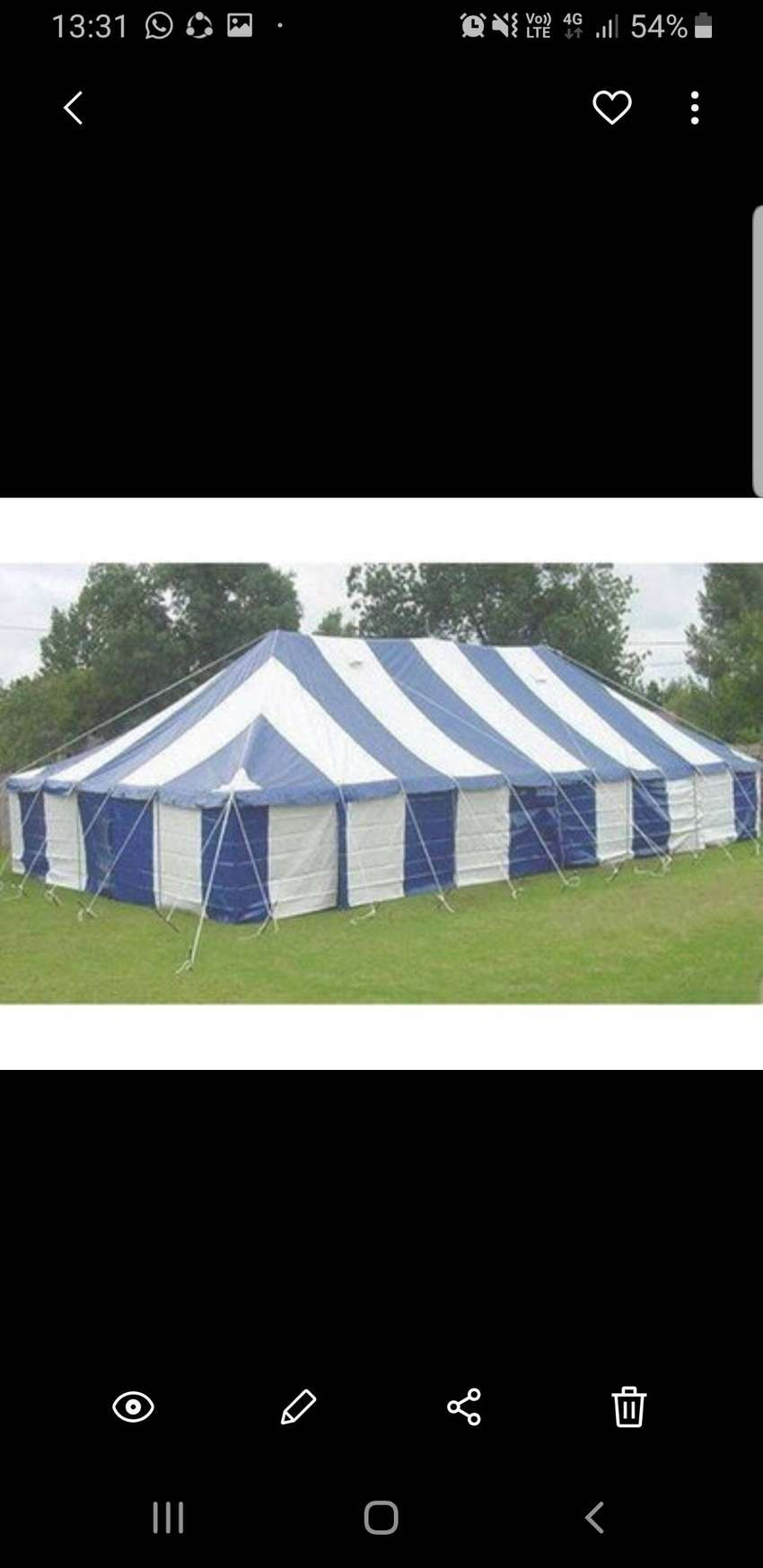 Tents for hire 0