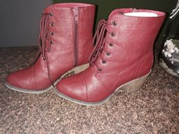 Botki kozaki buty obcas 37