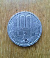 100 лей 1991 г. Румыния