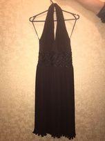 Нарядное шоколадное вечернее, выпускное платье Guazza,размер 38-40