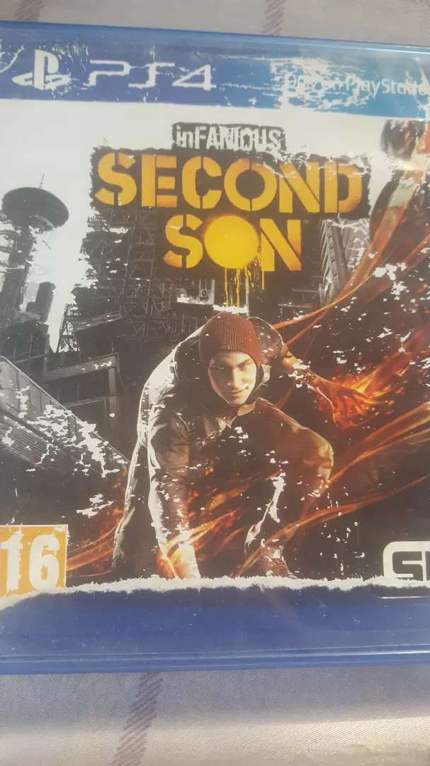 InFamous: second son PS4. 0