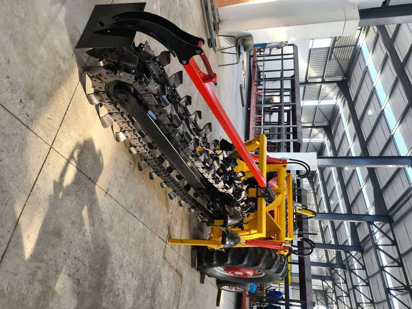Brand New Tractor operated chain trencher implement
