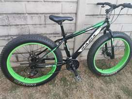 Fat bike as good as new