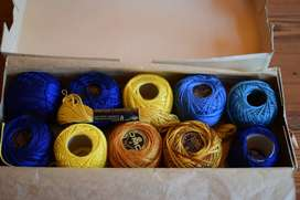 Vintage Dullfus-Mieg Paris Cotton Thread