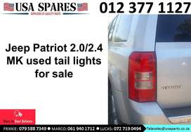Jeep Patriot 2.0/2.4 MK 2007-17 used tail lights for sale
