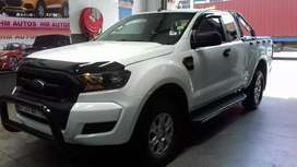 2017 Ford Ranger 2.2 6 speed  extra cab