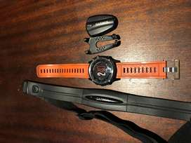 Garmin fenix 3 + heart rate monitor + speed and distance monitor