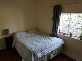 Sunny double room in two-bed home