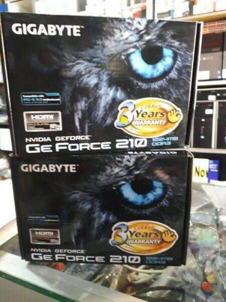 Gigabyte Ge Force 210 Graphic Card 1024MB, Brand New Sealed 0