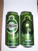Puszka po piwie Tuborg, edycja limotowana, stan idealny