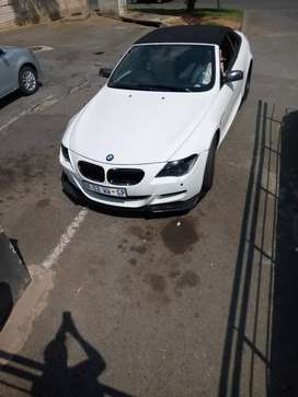 650ci drop top with m6 kit 4 pipe m6 exhaust