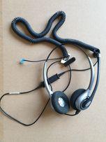 Słuchawki Platronics na dwoje uszu + przejściówka LC1471 B3