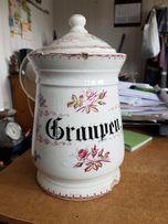 Porcelanowy pojemnik niemiecki